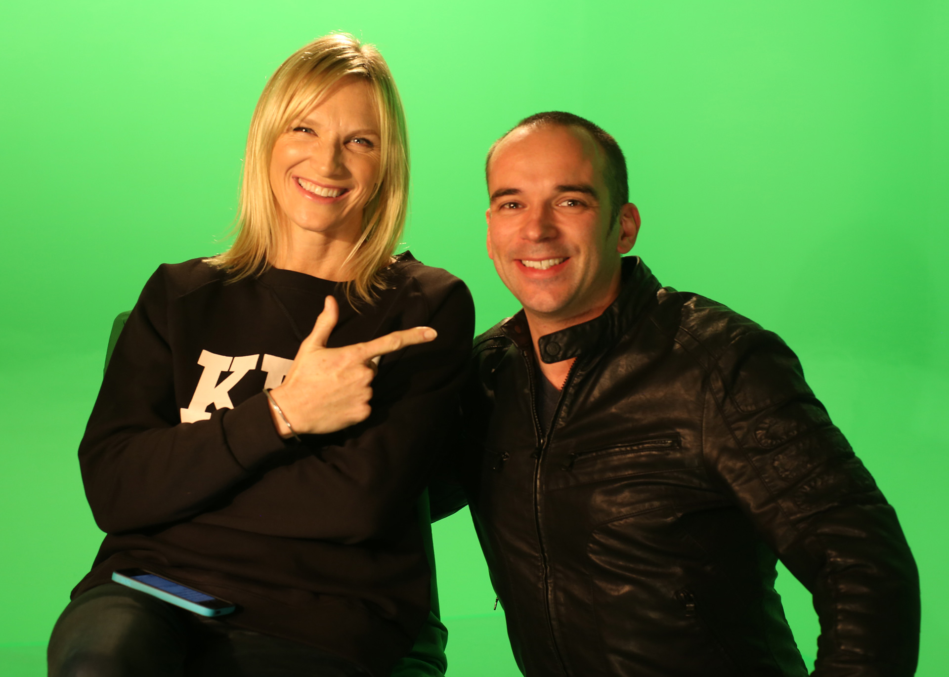Simon and Jo Whiley
