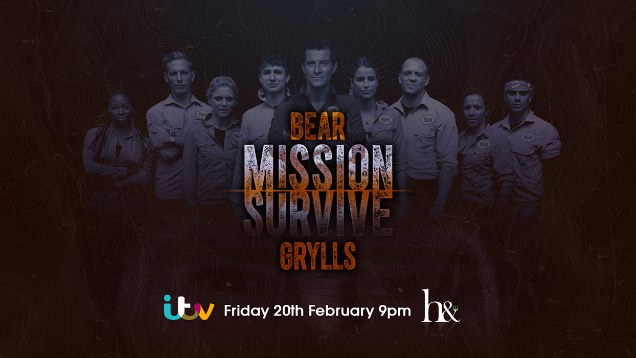 ©Holey and Moley Bear Grylls Mission Survive