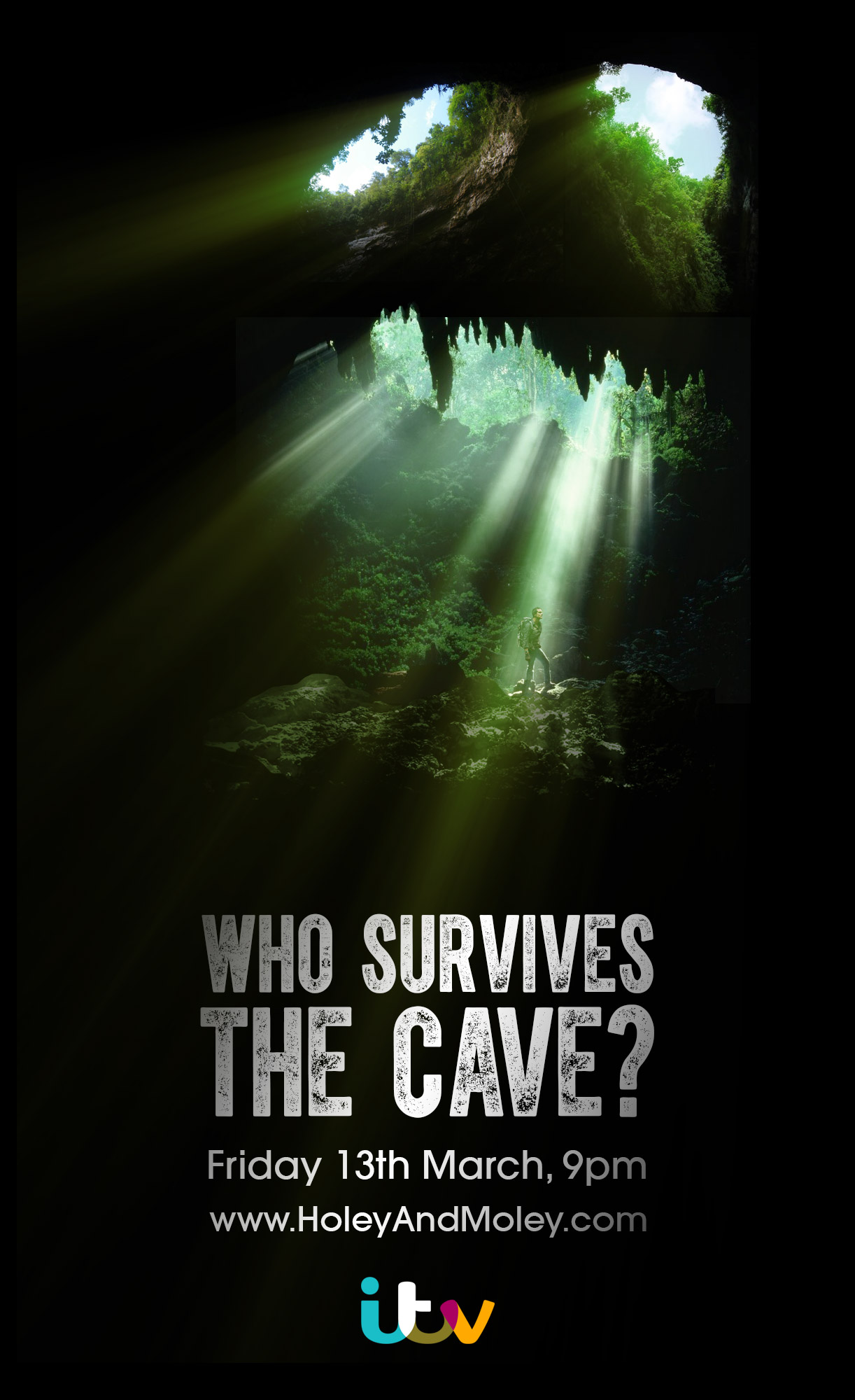 ©Holey&Moley 2015 Bear Grylls Mission Survive The Cave