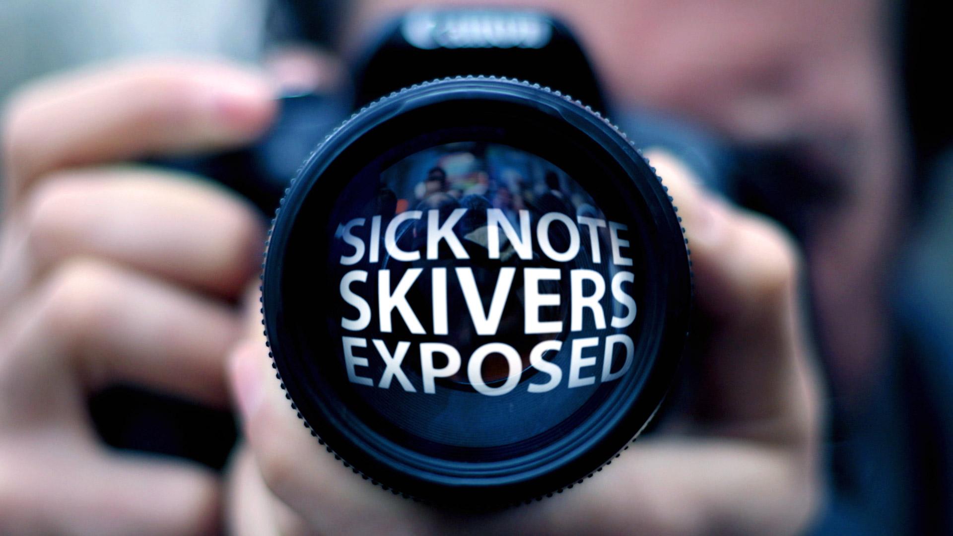 Sick Note Skivers Exposed Holey & Moley ©Holey&Moley 2015