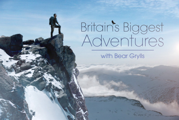 Britain's Biggest Adventures with Bear Grylls ©Holey&Moley 2015