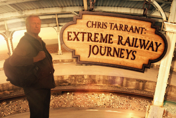 Chris Tarrant Extreme Railway Journeys ©Holey&Moley 2015