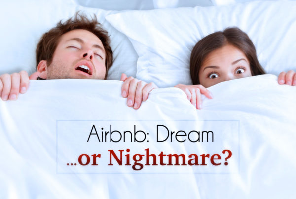 Airbnb: Dream or Nightmare? ©Holey&Moley Ltd