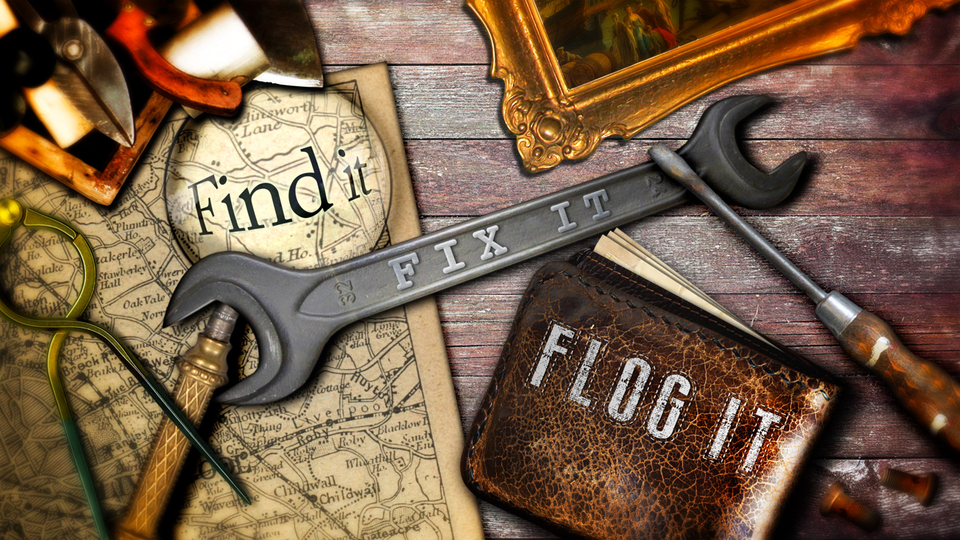 Find It, Fix It, Flog It © Holey & Moley Ltd Channel 4