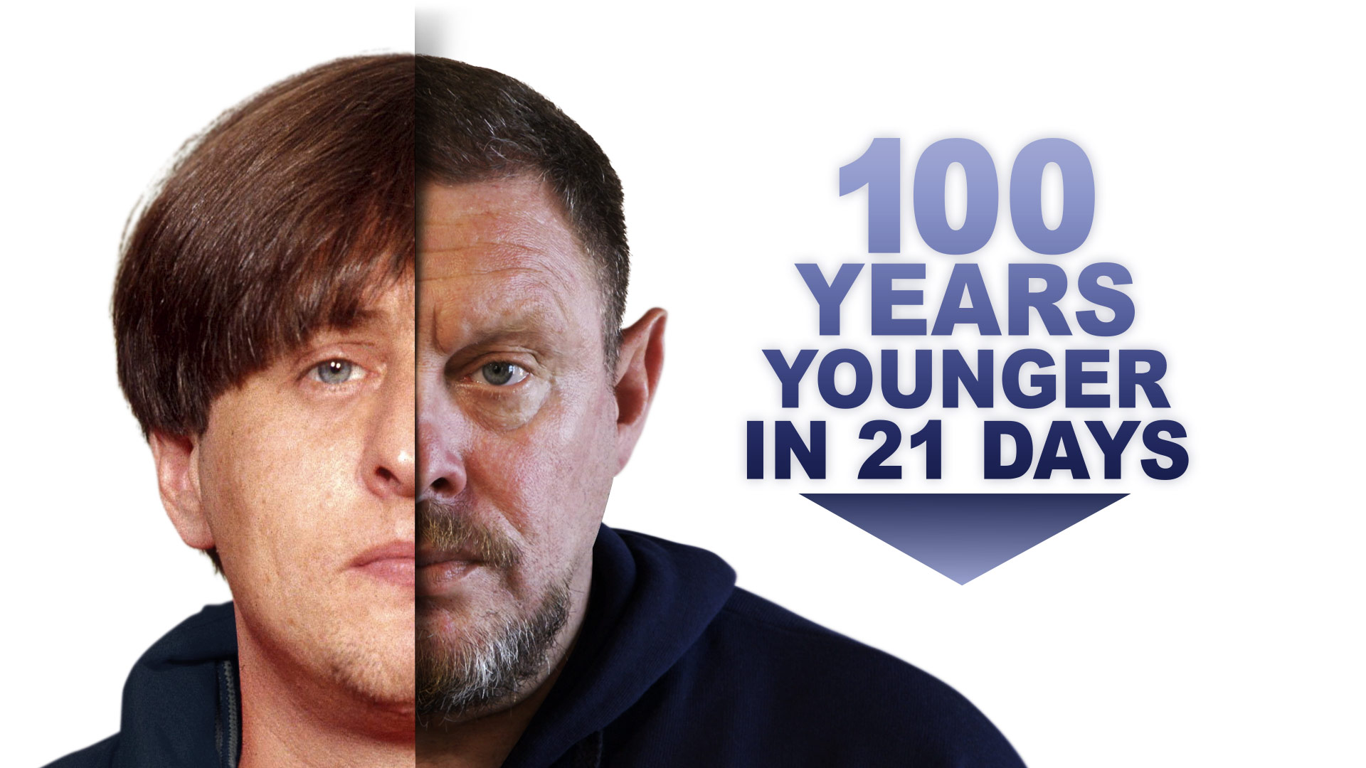 100 Years Younger in 21 Days ©Holey and Moley Ltd
