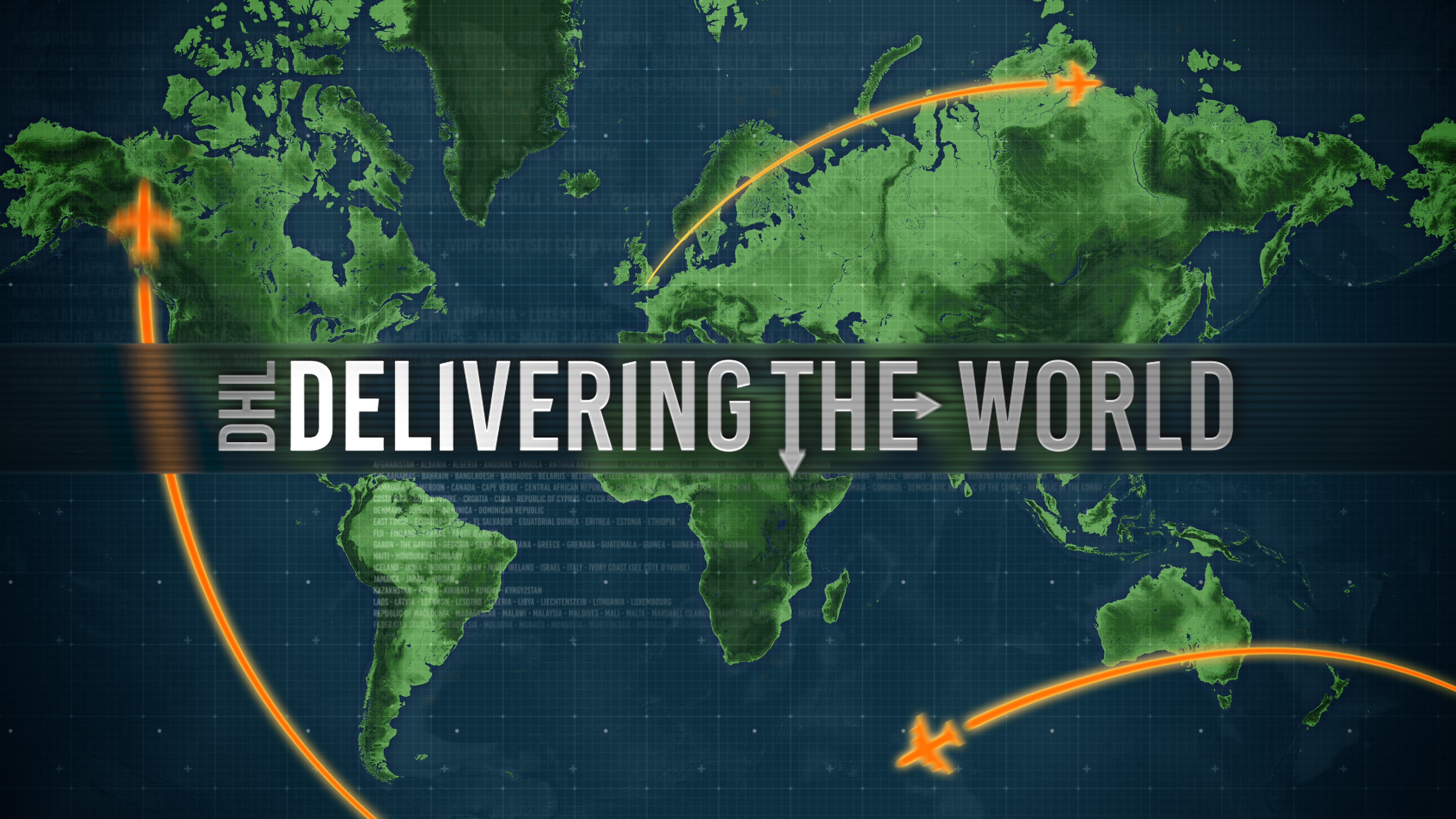 DHL - Delivering the World © Holey and Moley Ltd Channel 5