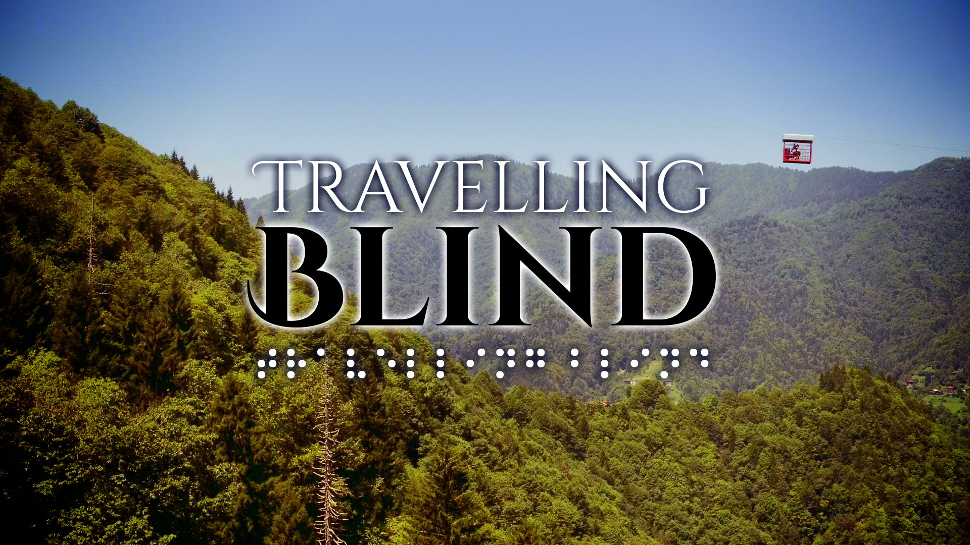 Travelling Blind Title Brand © Holey and Moley Ltd