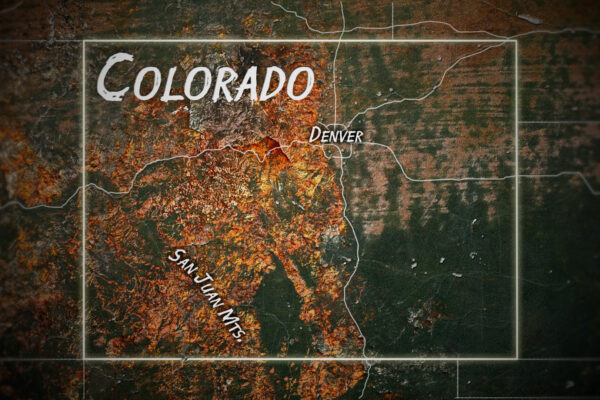 Gold Rush  Freddy Dodge's Mine Rescue Map Graphic © HoleyandMoley Ltd Discovery+